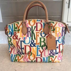 🌈 Dooney & Burke Rainbow satchel purse 👛